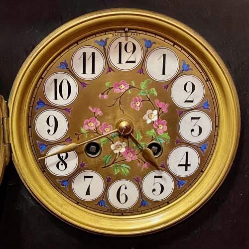 Late 19th Century Aesthetic Period Ebonised Bracket Clock image-3