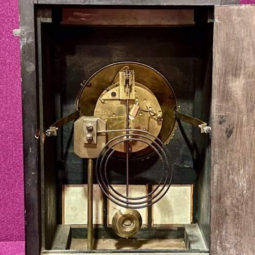 Late 19th Century Aesthetic Period Ebonised Bracket Clock image-6