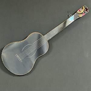Art Deco Guitar Shaped Mirror