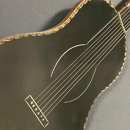 Art Deco Guitar Shaped Mirror image-2