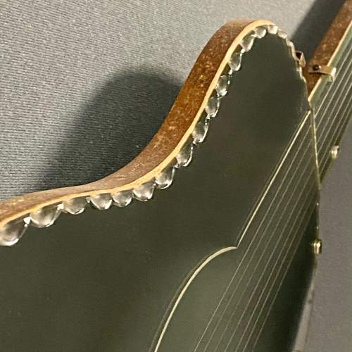 Art Deco Guitar Shaped Mirror image-4