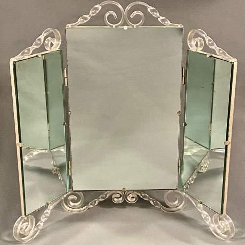 20th Century Perspex Dressing Mirror image-1