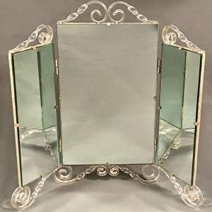 20th Century Perspex Dressing Mirror