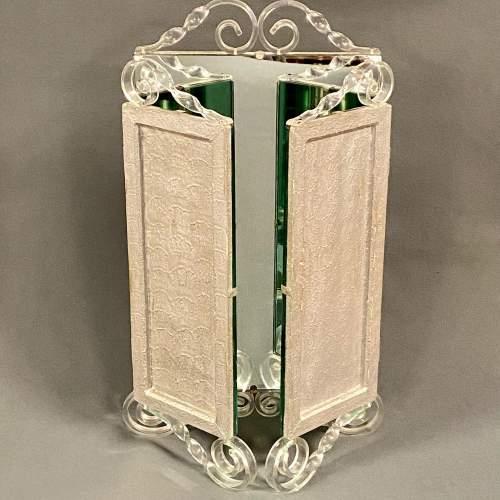 20th Century Perspex Dressing Mirror image-2