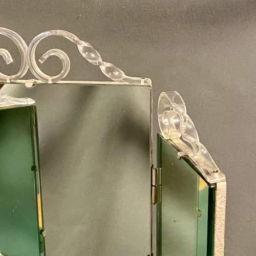 20th Century Perspex Dressing Mirror image-4