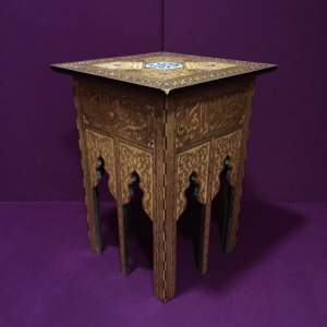 Good Quality Decorative Damascus Inlaid Table