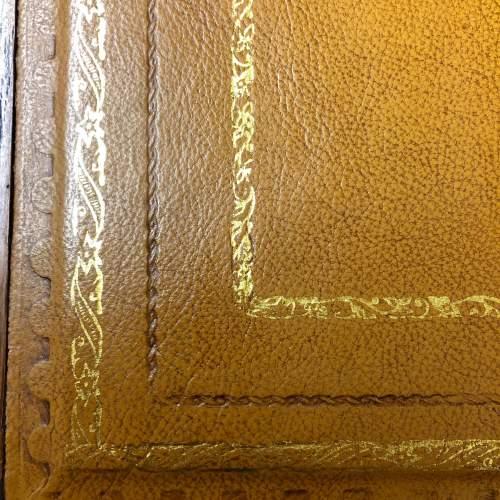 1920s Golden Oak Pedestal Desk image-5