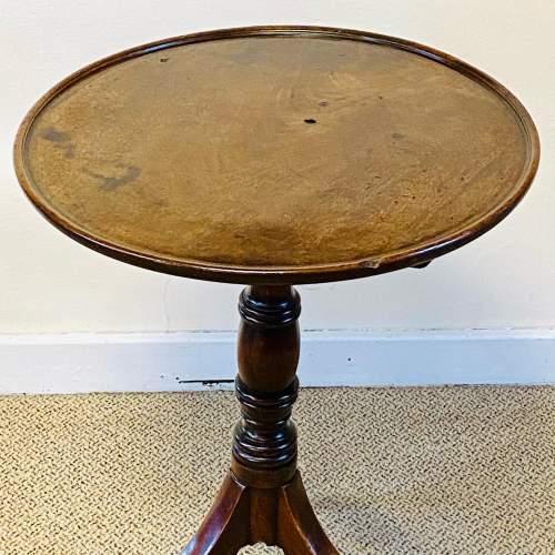19th Century Mahogany Tripod Tilt Top Table image-2