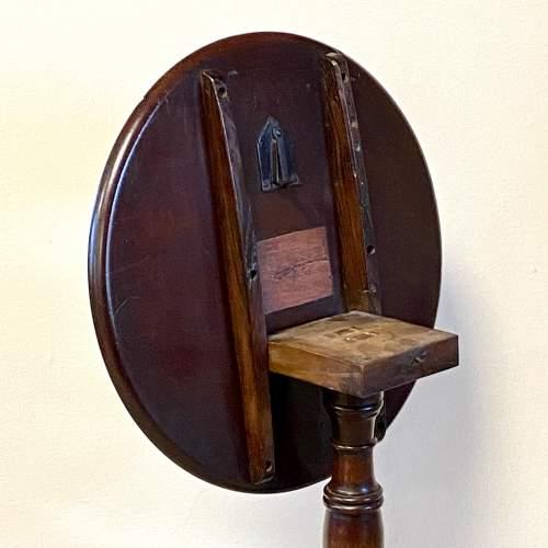 19th Century Mahogany Tripod Tilt Top Table image-3