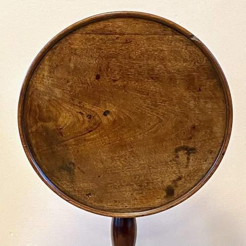 19th Century Mahogany Tripod Tilt Top Table image-5