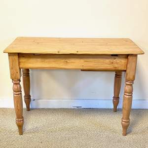 Small Victorian Pine Table