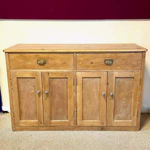 Early 20th Century Rustic Pine Preparation Unit