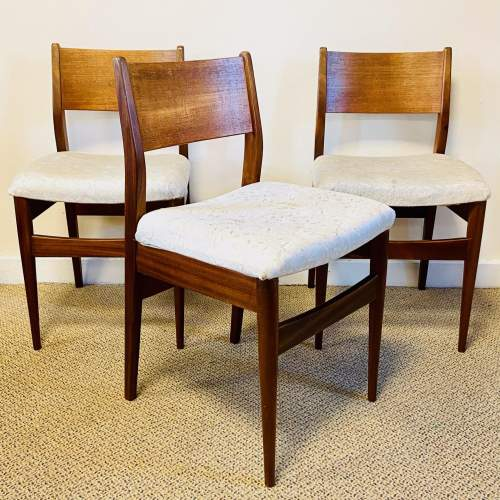 Set of Four 20th Century Danish Teak Dining Chairs image-2