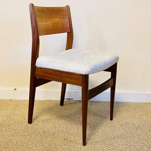 Set of Four 20th Century Danish Teak Dining Chairs image-5