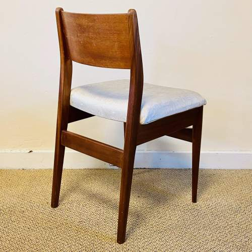 Set of Four 20th Century Danish Teak Dining Chairs image-6