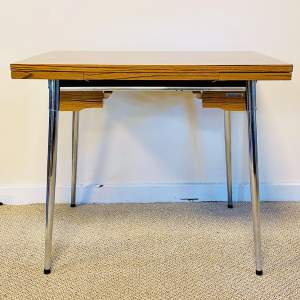 Mid 20th Century Supermatic Chrome and Formica Dining Table