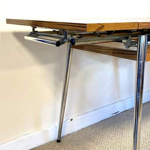 Mid 20th Century Supermatic Chrome and Formica Dining Table image-3