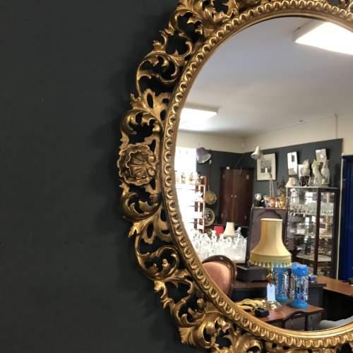 Giltwood Florentine Framed Wall Mirror image-2