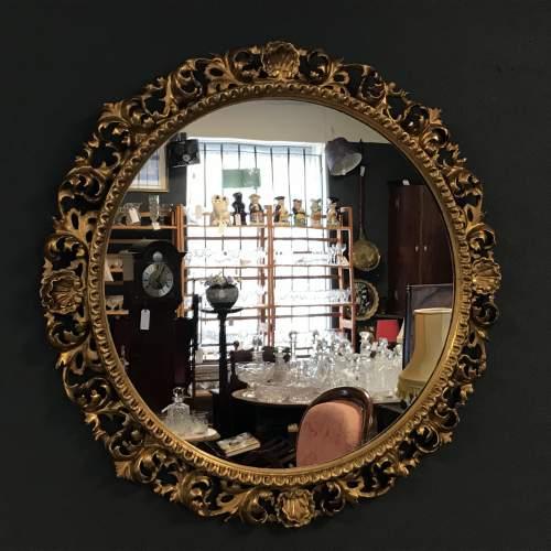 Giltwood Florentine Framed Wall Mirror image-3