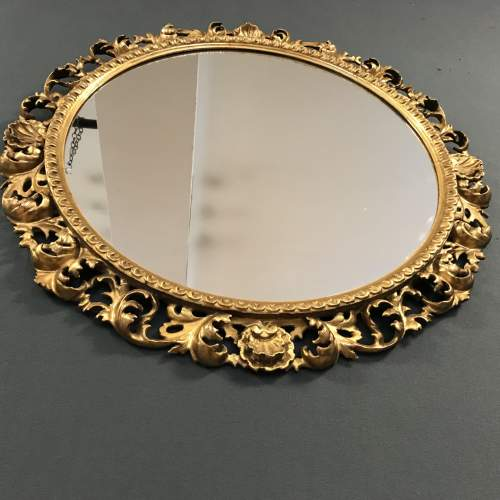 Giltwood Florentine Framed Wall Mirror image-5