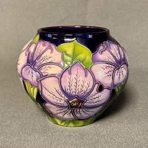 Moorcroft Petunia Vase