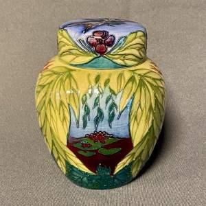 Moorcroft Ophelia Trial Ginger Jar