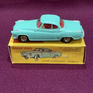 Dinky Borgward Coupe