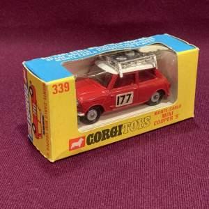 Corgi Monte Carlo Mini Cooper S
