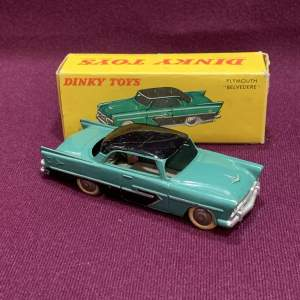 French Dinky 24D Plymouth Belvedere