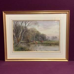 Watercolour By Henry Charles Fox