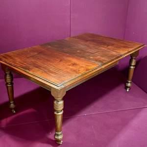 Late Victorian Small Mahogany Dining Table