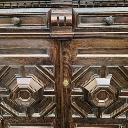 A Fine 17th Century Oak Cabinet image-5
