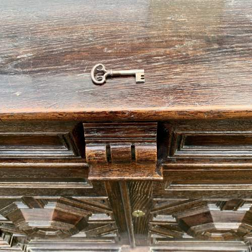 A Fine 17th Century Oak Cabinet image-6