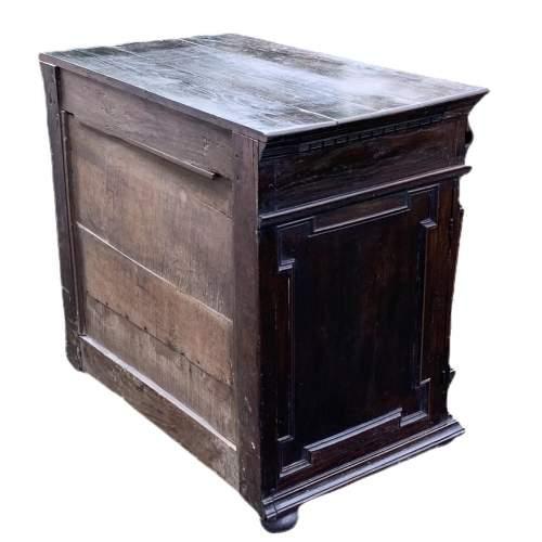A Fine 17th Century Oak Cabinet image-4