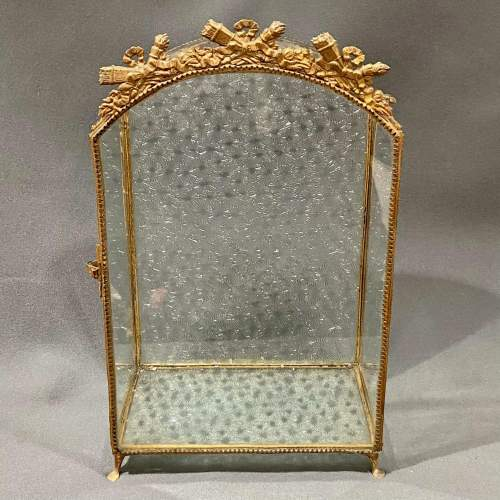 Small French Vitrine Display Case image-2
