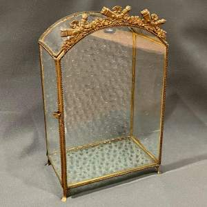 Small French Vitrine Display Case