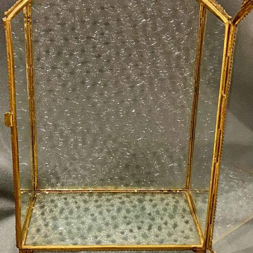 Small French Vitrine Display Case image-6