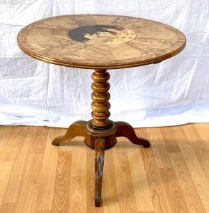 Sorrento Ware Olive Wood Table