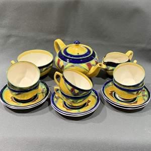 Art Deco Barker Brothers Arabesque Tea Set