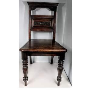 Victorian Hall Chair