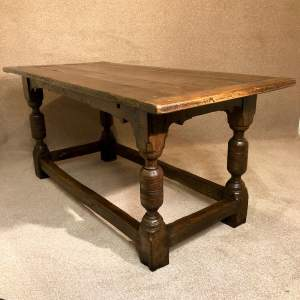 18th Century Oak Refectory Table