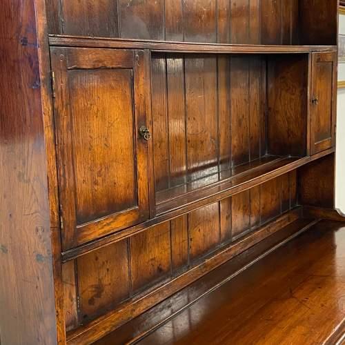 Georgian Style Oak Pot Board Welsh Dresser image-4