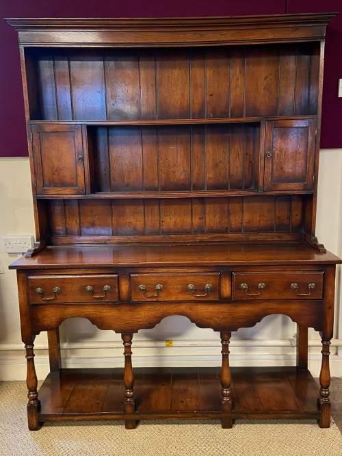 Georgian Style Oak Pot Board Welsh Dresser image-5