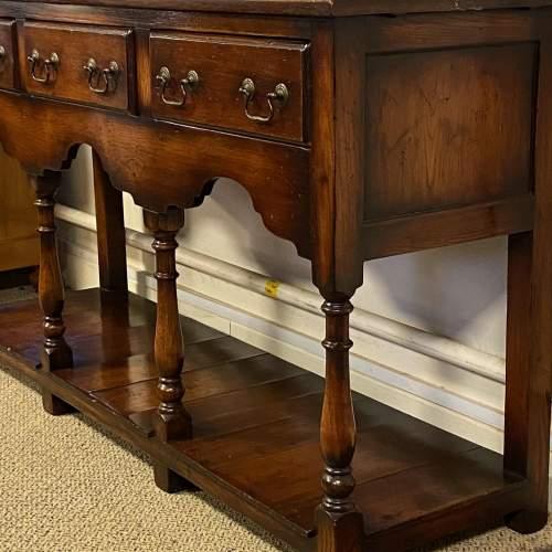 Georgian Style Oak Pot Board Welsh Dresser image-6