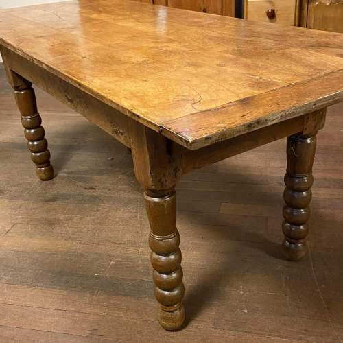 Large Spanish Country Farmhouse Table image-1