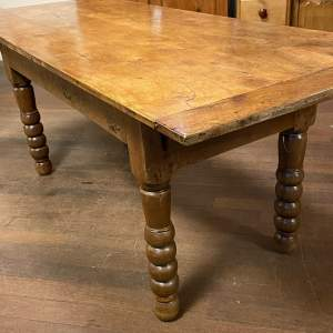 Large Spanish Country Farmhouse Table