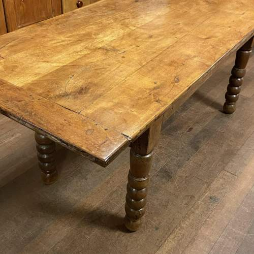 Large Spanish Country Farmhouse Table image-3