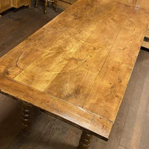 Large Spanish Country Farmhouse Table image-4