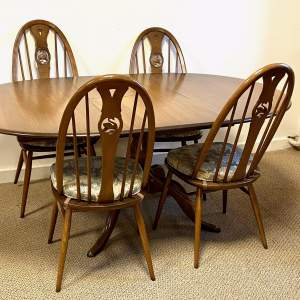 Ercol Golden Dawn Dining Table and Chairs