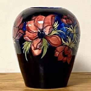 Moorcroft Pottery Large Anemone Vase